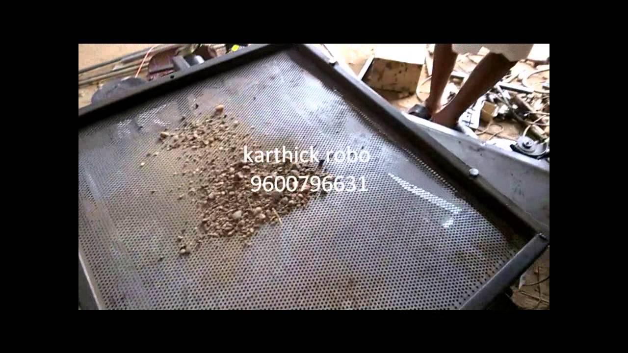 Sand And Slag Separator : Sand filter aggregate separator mechanical engineering