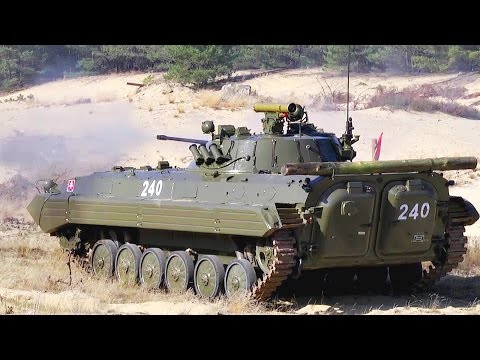 Stryker & Boyevaya Mashina Pekhoty Infantry Fighting Vehicle - Combined Weapons Range