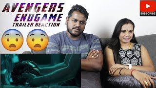 Marvel Studios' AVENGERS: ENDGAME Trailer Reaction | Malaysian Indian Couple | Tamil