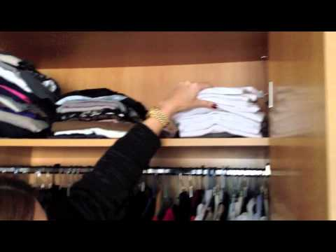 Cmo organizar tu closet  Doovi