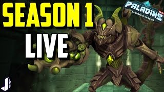 Paladins Essence System is a Mess! Season 1 Live - OB44 Gameplay and Chest Opening Experience