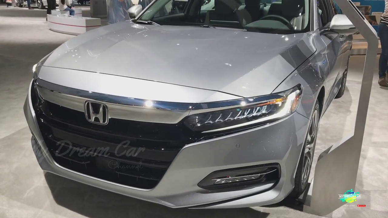 2019 honda accord hybrid touring exterior and interior walkaround 2018 la auto show