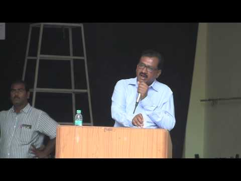 Prof Ghanta Chakrapani (TSPSC Chairmen) Speech about Groups 1