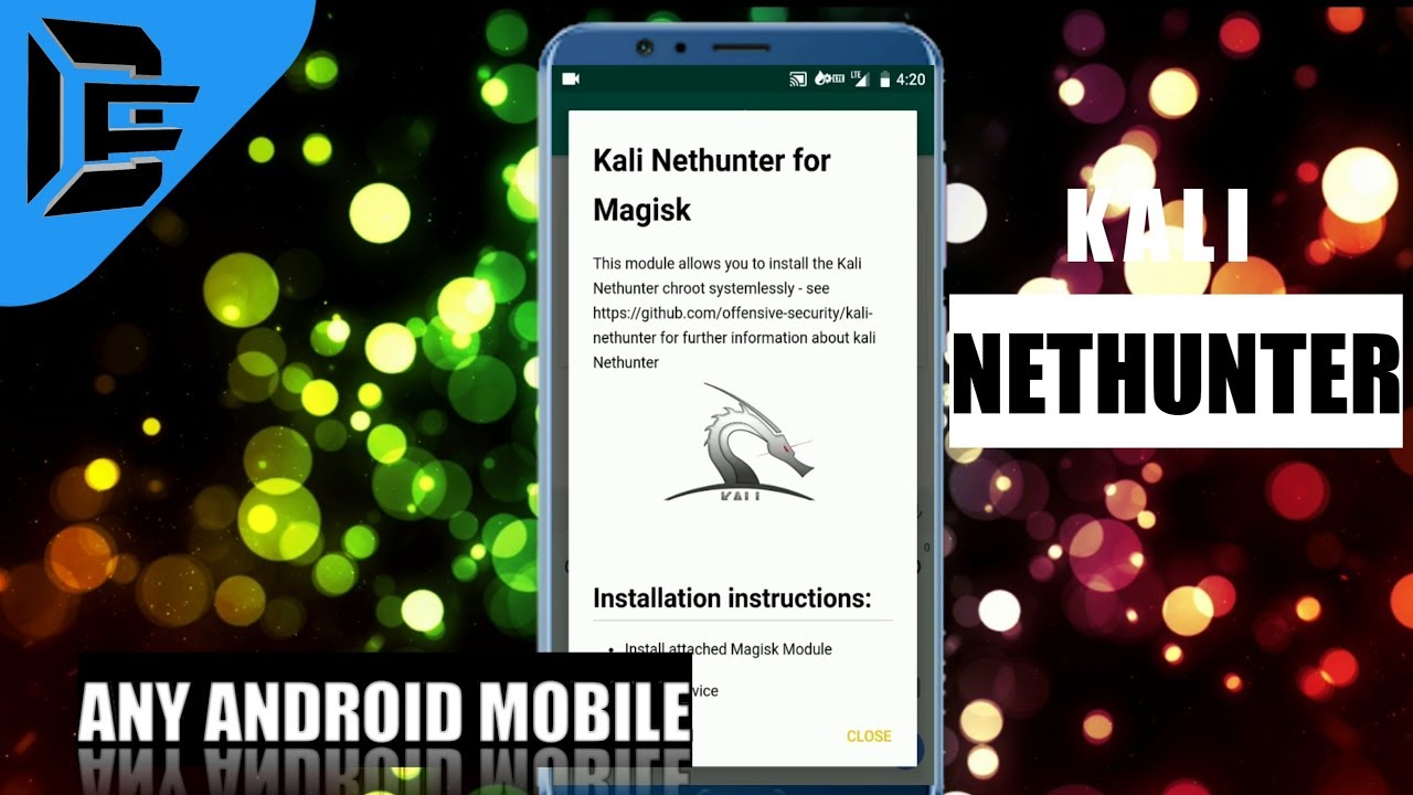 Install kali Nethunter On Any Android Mobile Using Magisk