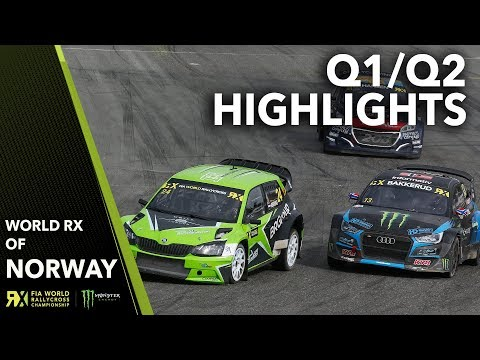 Qualifying 1 & 2 Highlights   2019 Team Verksted FIA World Rallycross of Norway