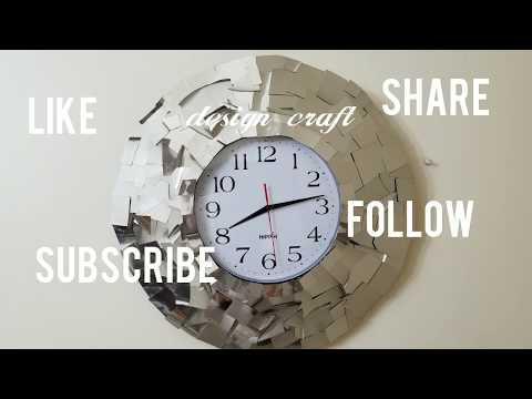 DIY Crafts Ideas: Home decor wall clock ....