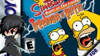 the simpsons night of the living tree house of horror Lets play episode #1