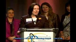 Elizabeth Garypie, 2012 Women of Innovation Award Winner