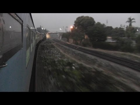 Departing from New Jalpaiguri and crossing Mahananda river - 12042 NJP-HWH Shatabdi (March 2, 2013)