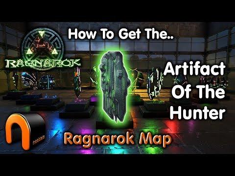 ARK ARTIFACT OF The HUNTER Ragnarok Map
