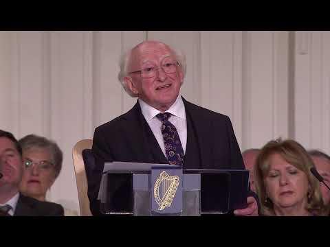 Inaugural Speech by President Michael D. Higgins