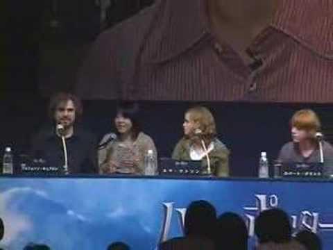 Tokyo Press conference 2004
