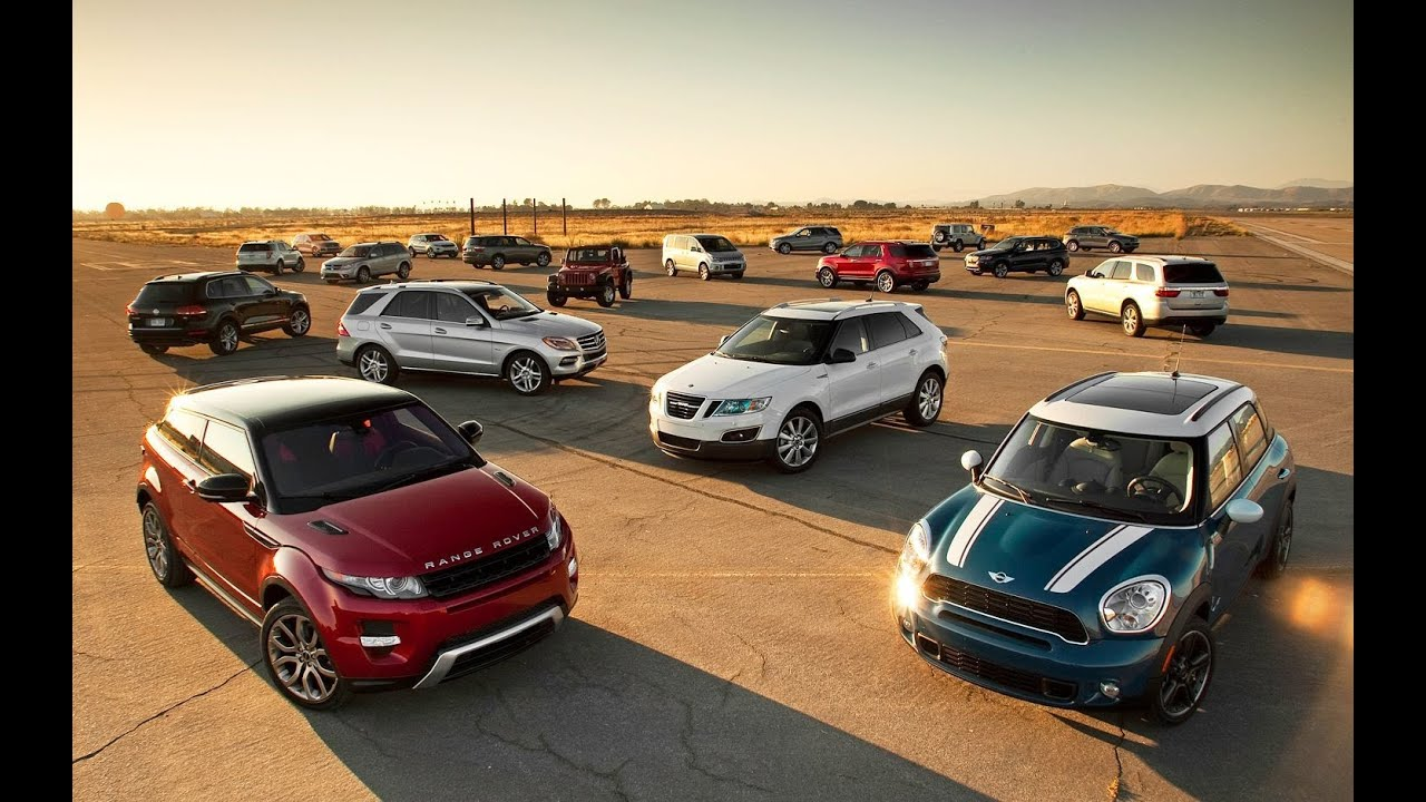 2012 motor trend suv of the year competition overview