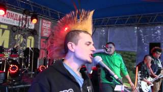 """видео: Панк группа """"Зеленая Партия"""" - Трансмутация. Фестиваль """"Улетай 2.0"""""""