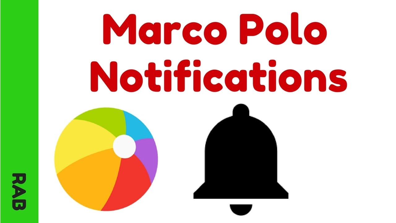 marco polo app notification settings youtube. Black Bedroom Furniture Sets. Home Design Ideas