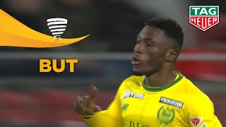 But Majeed WARIS (49') / Stade Rennais FC - FC Nantes (2-1) (1/8 de finale)  (SRFC-FCN)/ 2018-19