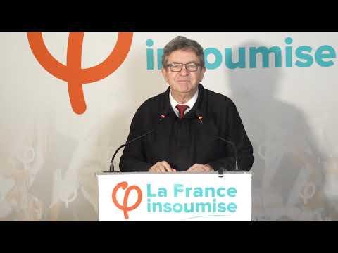 Municipales : Déclaration de Jean-Luc Mélenchon