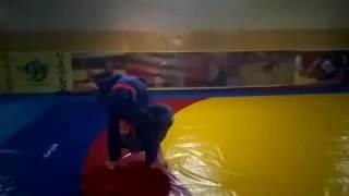 Запрыжка или обезьянка(вся красота броска в SlowMotion)Дзюдо Самбо Judo Sambo