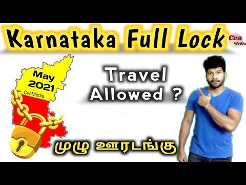 Karnataka Complete Lockdown May 2021 latest rules & news   Interstate Travel allowed ?   Tamil
