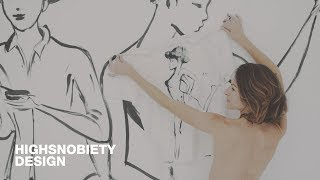 Highsnobiety Visits G.Kero - Shirt Painting In Paris