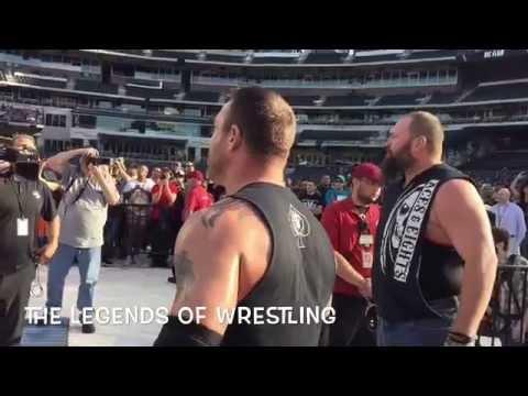 Legends of Wrestling Citifield June 2015
