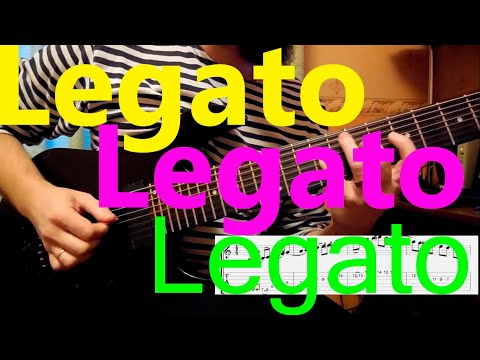 Legato Exercises(With TAB)