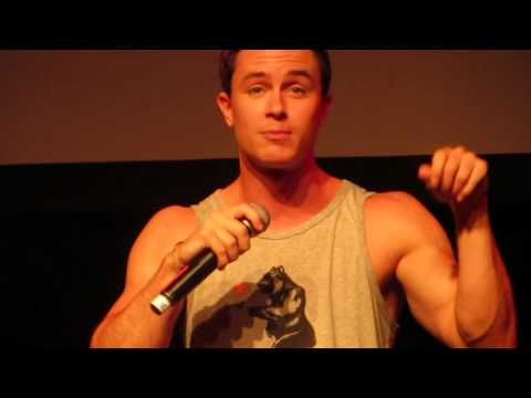 Talking about Linden Ashby and the coach  Ryan Kelley @ Werewolfcon