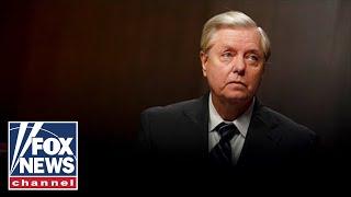 Lindsey Graham slams Biden's 'weakness' handling crises