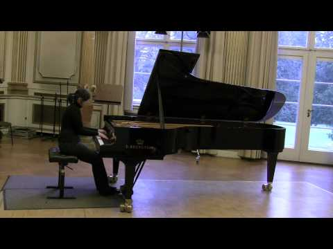 Maria Lettberg performs an Etude Op. 8 No. 12 by Scriabin (alternate version)