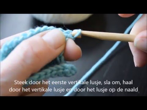 Tunisch Haken Voor Beginners Youtube