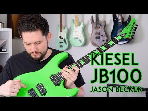 Kiesel JB100 Jason Becker Guitar Review - Lean Mean Green Clown Machine