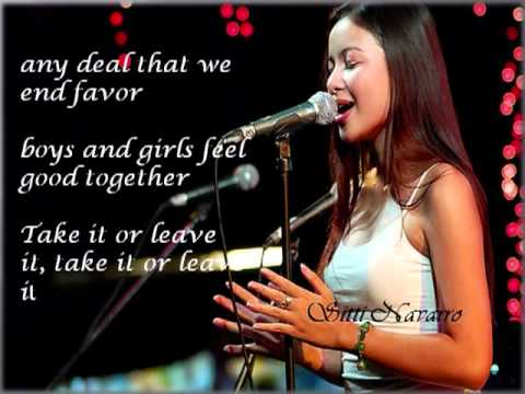2 Become 1 (Sitti w/ lyrics)