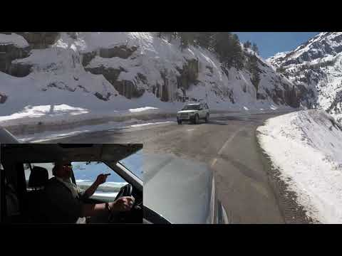 Million Dollar Highway (Red Mountain Pass) With A Scotsman On The Loose