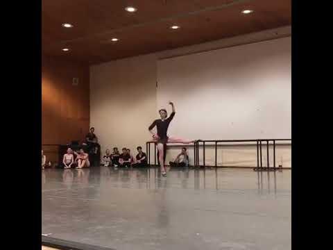 Daniil Simkin rehearsing DQ! (1)
