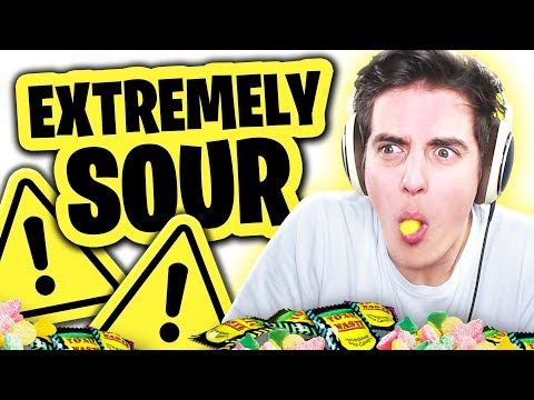 Denis Sucks at the SUPER SOUR CHALLENGE
