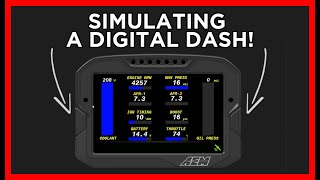 homepage tile video photo for How To SIMULATE A CD Digital Dash On Your PC!