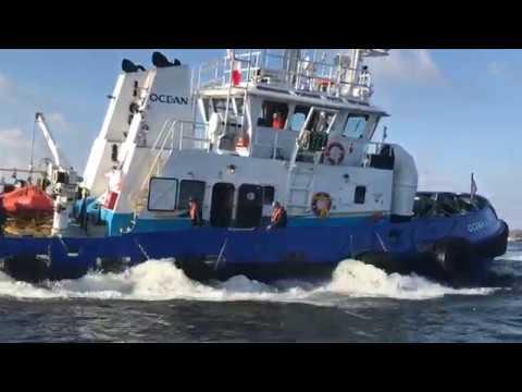 Ocean A Simard Hamilton Harbour Tugboat