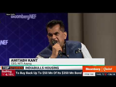 Amitabh Kant: India's Transition To Renewable Energy Sources   BNEF Summit 2019