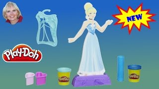 ♥♥ Play-Doh Design-a-Dress Fashion Kit Featuring Disney Princess Cinderella