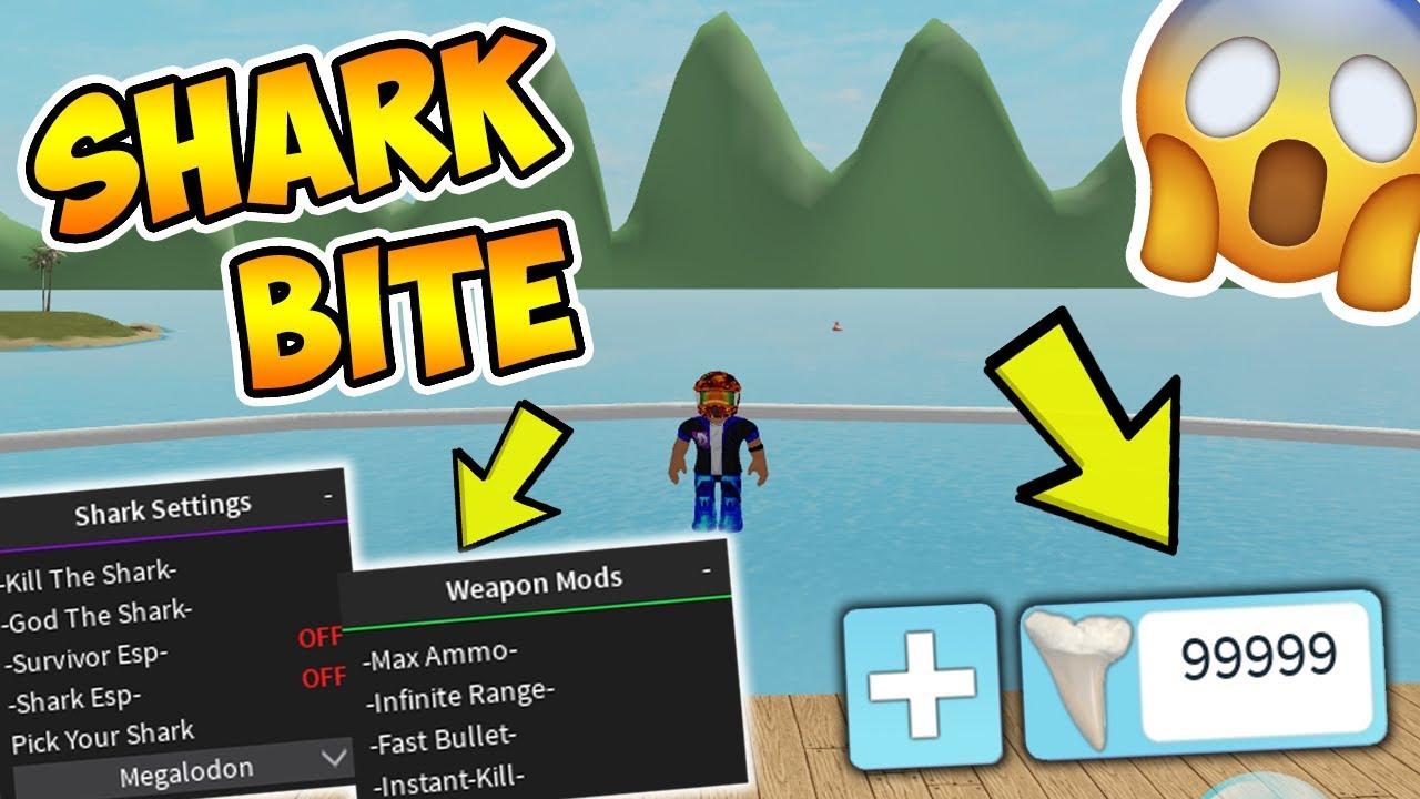 Omg Sharkbite Hack Script Infinite Teeth Spawn Boats