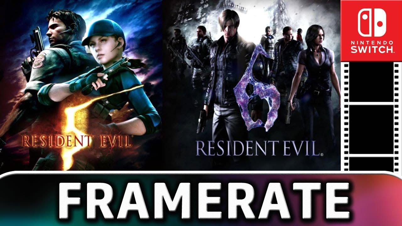 Resident Evil 5 & 6 | DOCKED Frame Rate TEST on Nintendo Switch