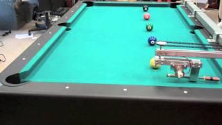 NI Pool-Playing Robot Demonstration