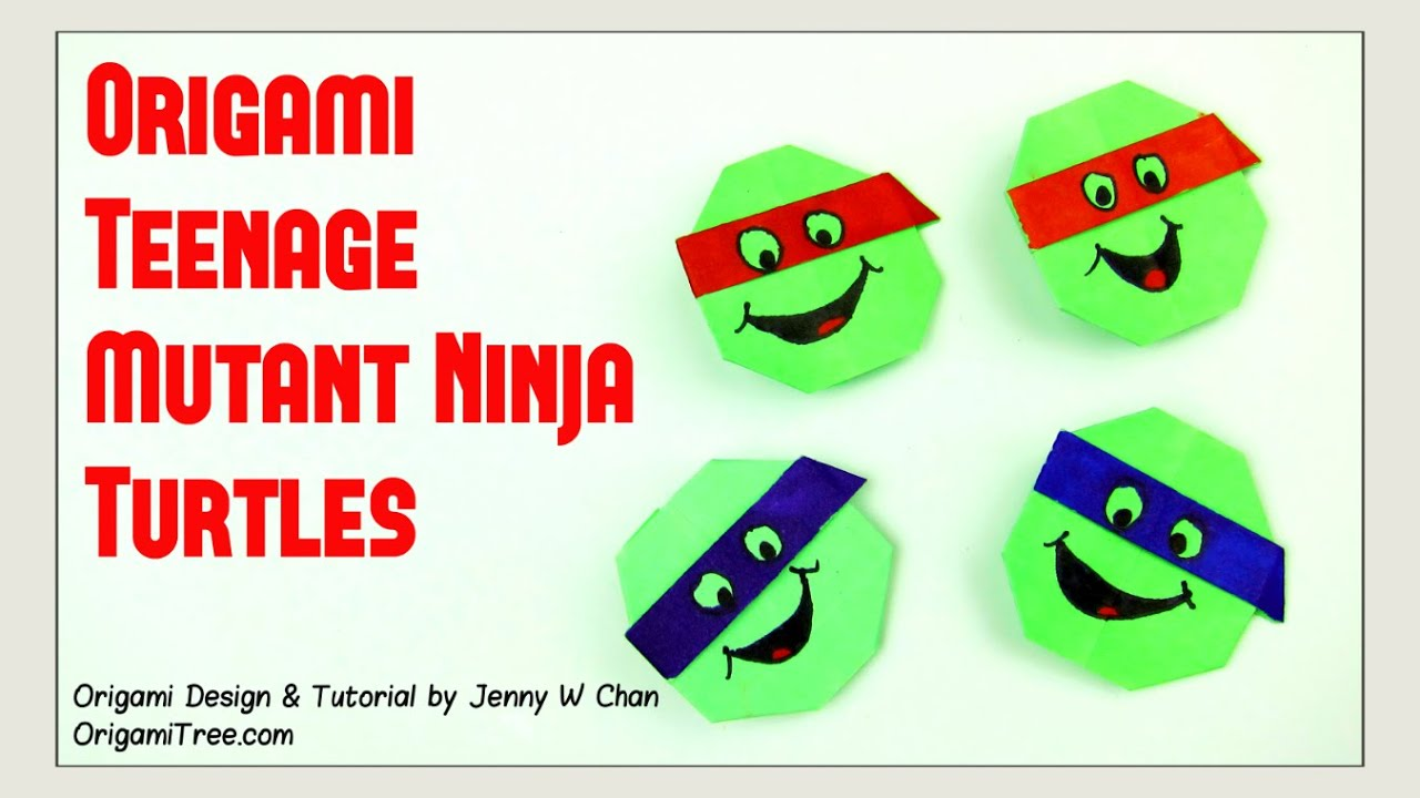 Origami Turtle Easy