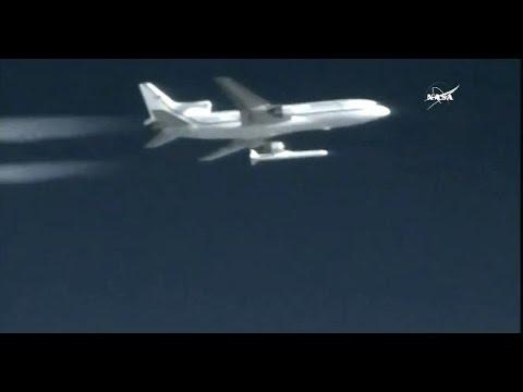 (CYGNSS) Spacecraft Launch Coverage - Pegasus Rocket (Thru 1st Stage)