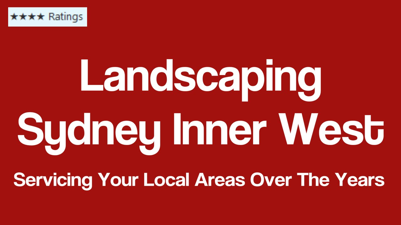 Landscaping Sydney Inner West Landscape Garden Design Call us