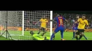 شاهد كاميني وتصديات إعجازية أمام برشلونة وتريكة يكشف نقطة ضعفه - الأهلي.كوم