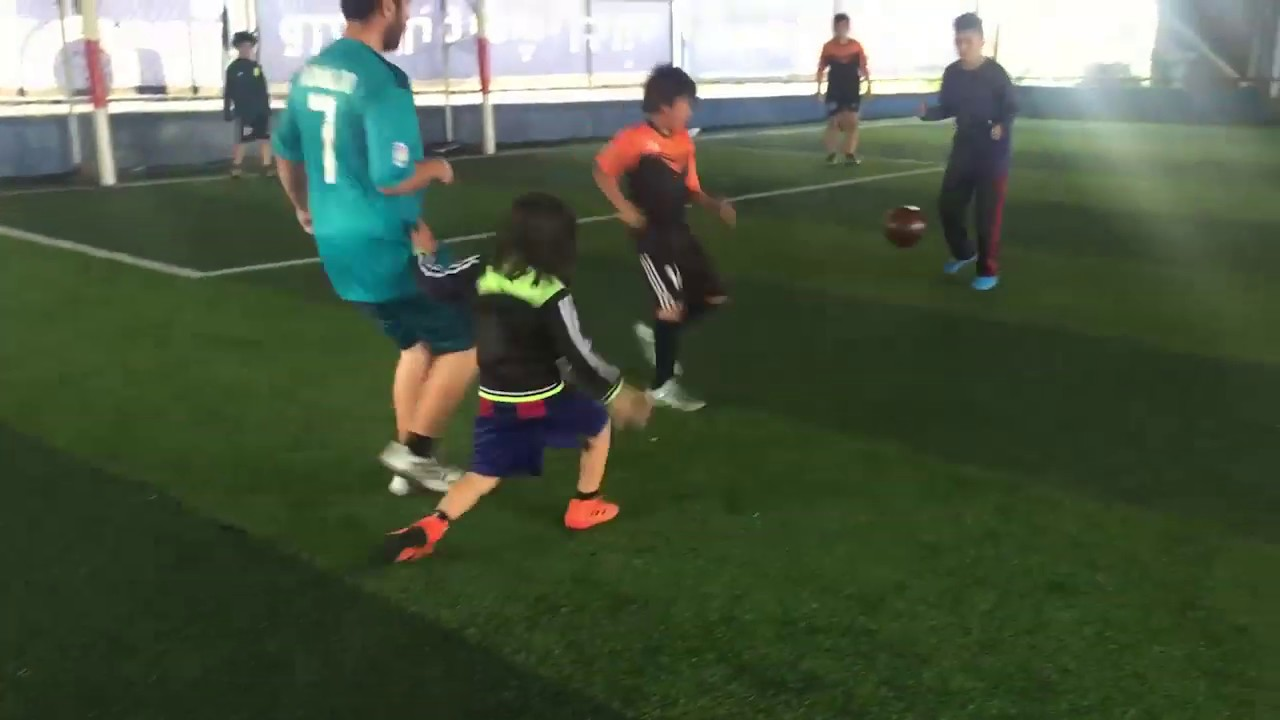 Ali Messi (7 years old) a Talented football player who challenges the big boys