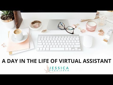 A day in the life of a Virtual Assistant