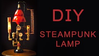 Steampunk DIY Industrial Pipe Lamp #6