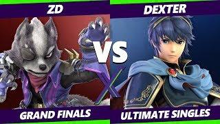 S@X 345 Grand Finals - ZD (Fox, Wolf) Vs. Dexter [L] (Marth) Smash Ultimate - SSBU